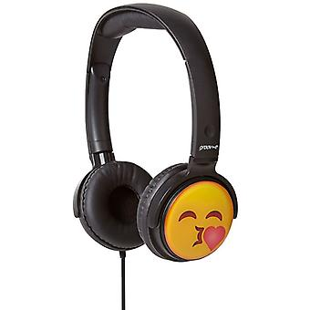 Groov-e EarMOJI Kids Headphones Kissing Face (Model No. GVEMJ14)