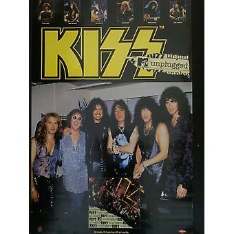 Kiss MTV Unplugged Poster