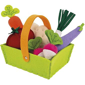 Janod Felt Vegetable Basket