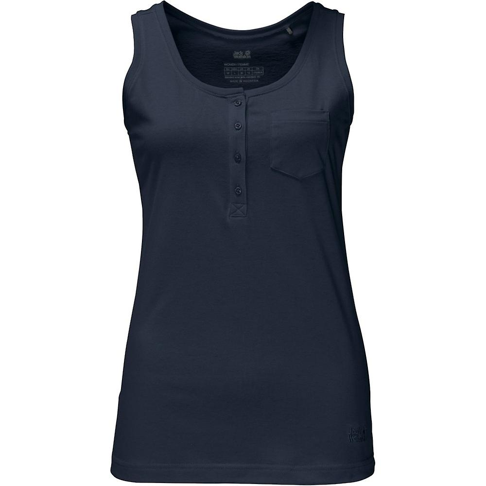 Jack Wolfskin Women's Top Essential Sleeveless with Organic Cotton