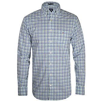 Gant Spearmint Gingham Long-Sleeve Shirt