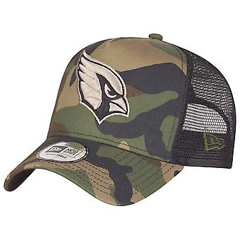 New era adjustable camo Trucker Cap - Arizona Cardinals wood