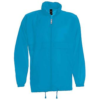 B&C Mens Sirocco The Windbreaker showerproof foldaway jacket