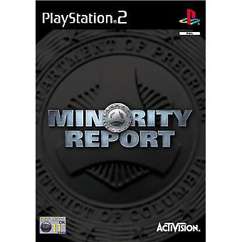 Minority Report (PS2) - New