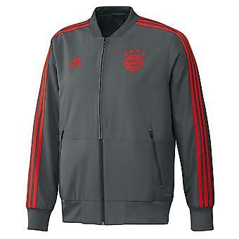 2018-2019 Bayern Munich Adidas Presentation Jacket (Utility Ivy)