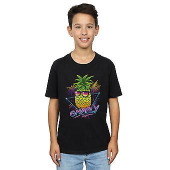 Vincent Trinidad jungen Rad Ananas T-Shirt