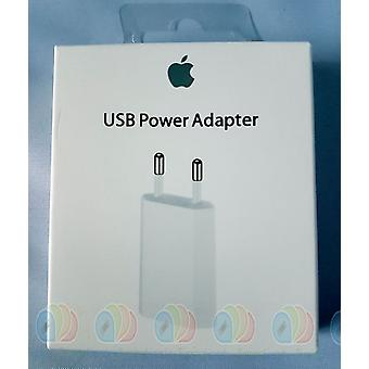 Original Retail Apple MD813 A1400 Alimentation Adaptateur chargeur 5W, iPhone XS XR X 8 7 iPad iPod