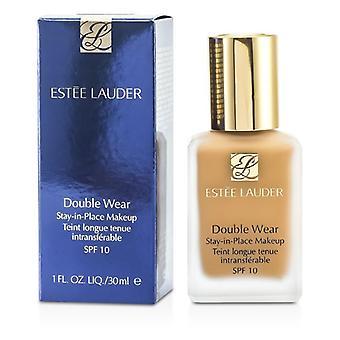 Estee Lauder dubbele slijtage blijf op zijn plaats make-up SPF 10-nr. 98 Gespicteerd zand (4n2)-30ml/1oz