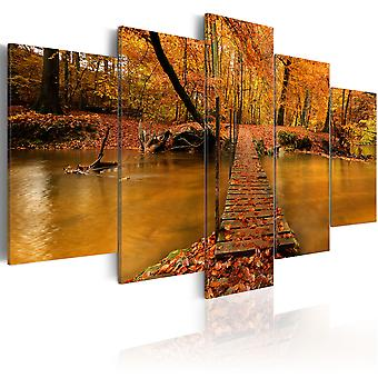 Canvas Print - Redness of autumn
