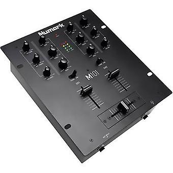 Numark M101 black DJ mixer