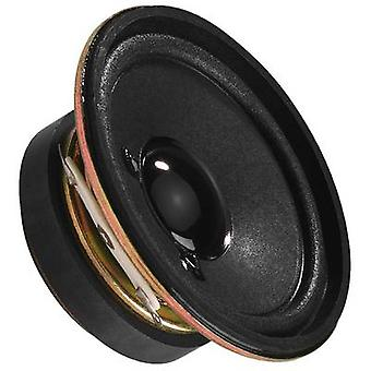 Monacor SP-6/4 2 inch 5 cm Mini speaker 3 W 4 Ω