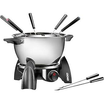 Unold 48615 Fondue 500 W with manual temperature settings Black, Silver