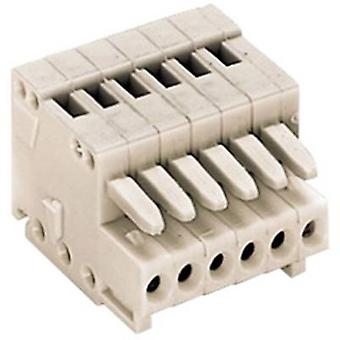 WAGO Socket behuizing - kabel 733 totaal aantal pinnen 3 Contact afstand: 2,50 mm 733-103 1 PC('s)