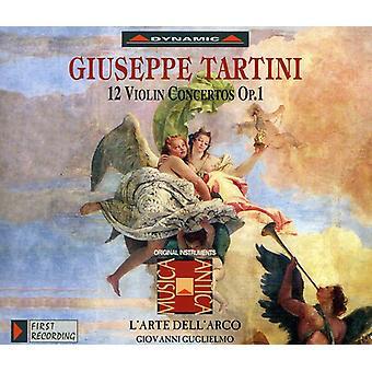 G. Tartini - Tartini: 12 Violin Concertos, Op. 1 [CD] USA import