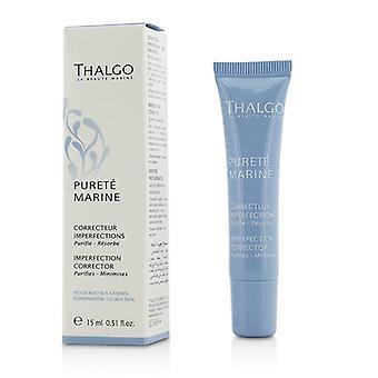 Thalgo Purete Marine Imperfection Corrector-yhdistelmälle rasvaiselle iholle-15ml/0.5 oz