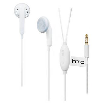 OEM HTC Handsfree Headset 3.5mm Universal Headset for HTC Models - White