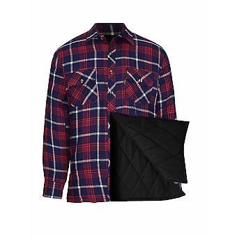 Champion Herren Totnes Fleece Gefüttert Holzfäller Style Shirt 3XL Rot