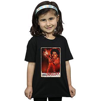 Michael Jackson Girls Thriller Stance T-Shirt
