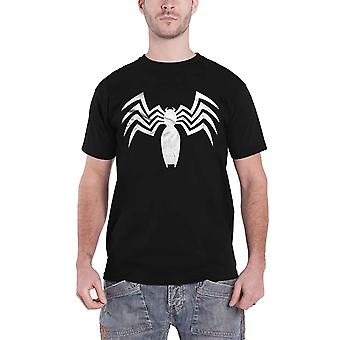Venom T Shirt Ultimate Spiderman new Official Marvel Comics Mens Black