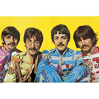 Beatles Poster  Sgt. Pepper's Lonely Hearts Club Band