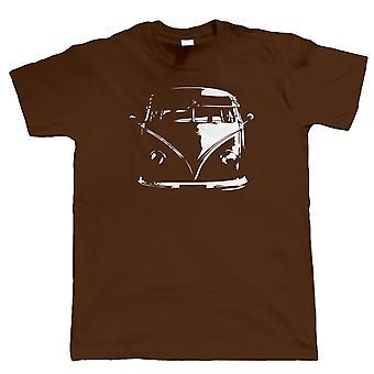 Split Screen Camper Van T Shirt - Vee Dub Campervan - Geschenk für Papa