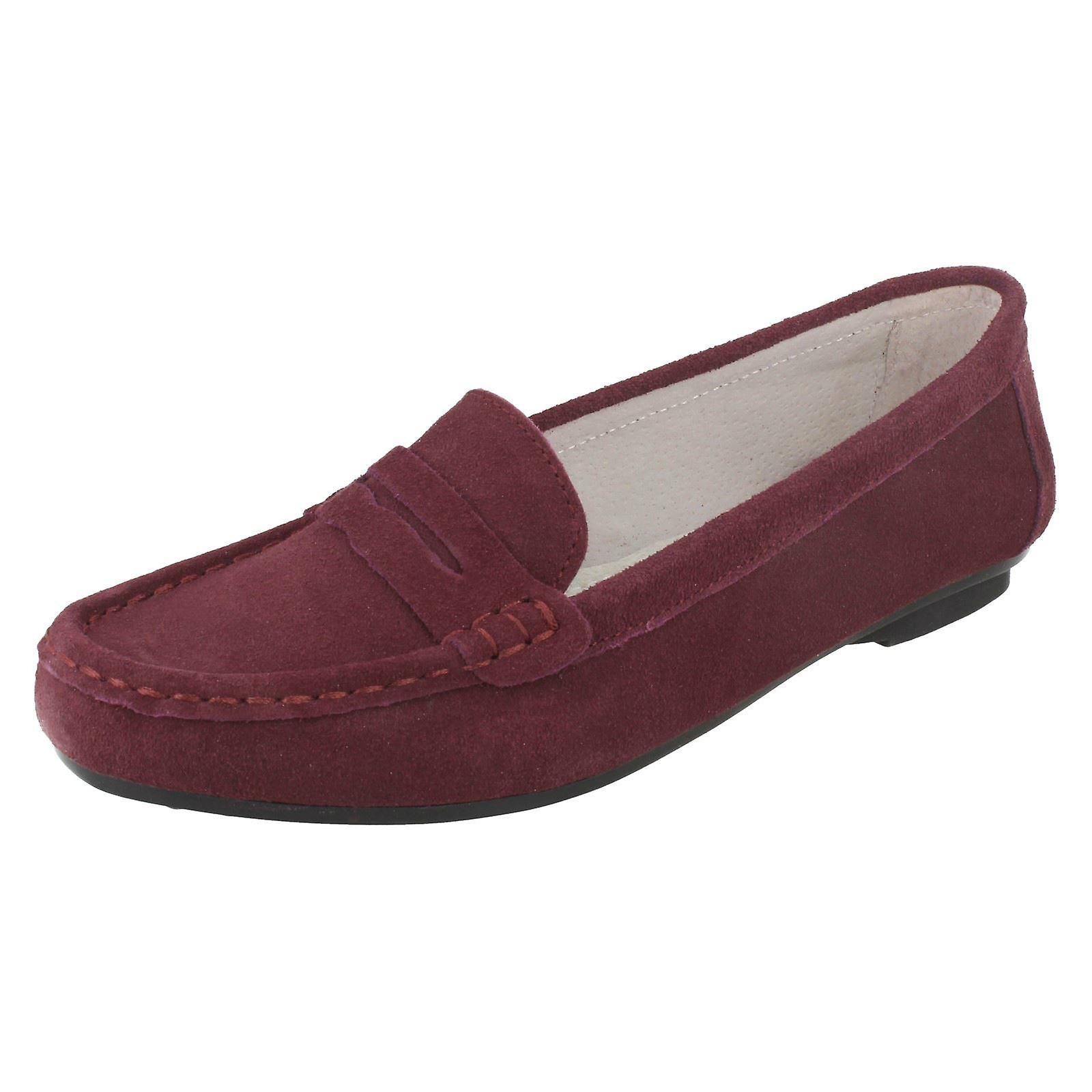 Ladies Down To Earth Moccasin Shoe 'F8996' AfIMh