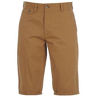 Kangol Kids Junior Boys Chino Shorts Bottoms Button Fastening Short Pants