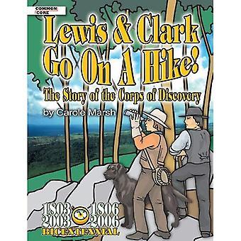 Lewis & Go Clark lors d'une randonnée