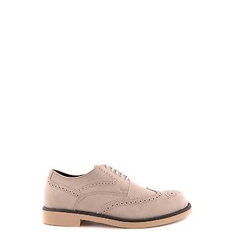 Tod's Xxm0wp00c10fl1b203 Men's Grey Suede Lace-up Shoes