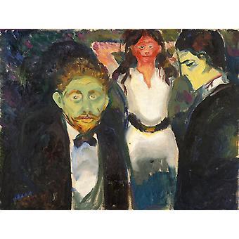 Inveja, Edvard Munch, 50x38cm