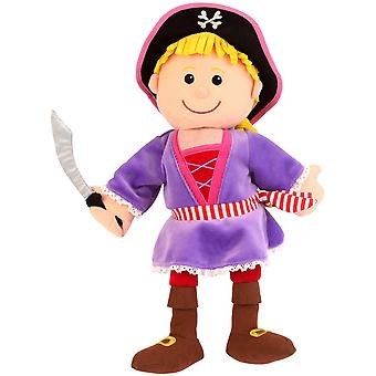 Fiesta Crafts Pirate Girl Hand Puppet