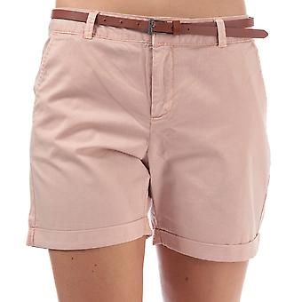 Womens Vero Moda Flash Chino Shorts en Misty rose