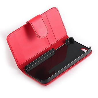 iPhone 5 Wallet Leder Case