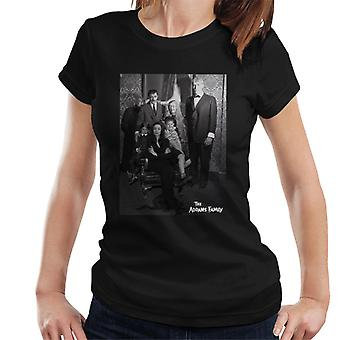 The Addams Family Portrait Women's T-Shirt