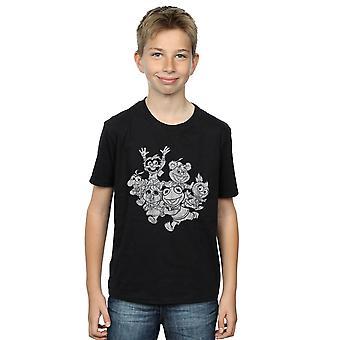 Disney Boys The Muppets Muppet Babies Mono Group T-Shirt