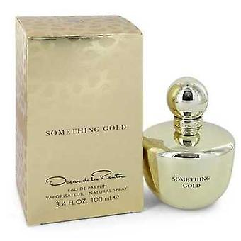 Something Gold por Oscar de la Renta Eau de Parfum Spray 3,4 oz (mulheres) V728-545112