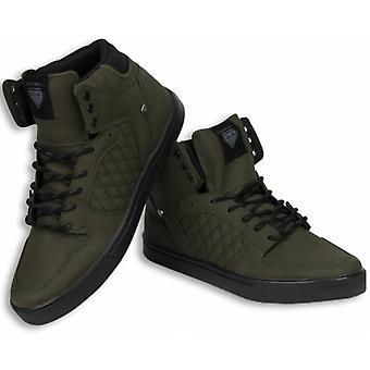 Shoes - Sneaker High - Jailor Khaki