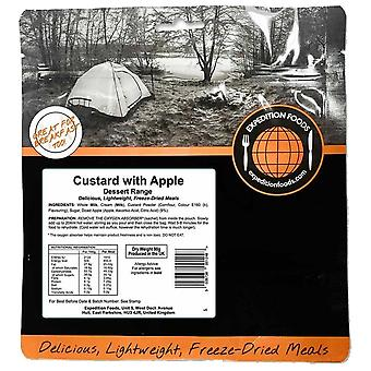 Expedition Foods Black Custard with Apples Expedition Foods Black Custard With Apples Expedition Foods Black Custard With Apples Expedition Foods