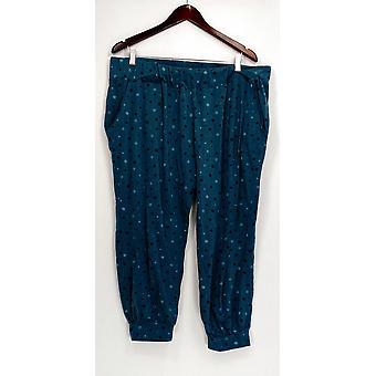 Anybody Petite Lounge Pants, Sleep Shorts XLP Loungewear Printed Blue A298207