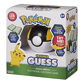 Pokemon trainer Guess Game-Hoenn Edition