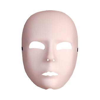 White Face Mask Halloween Fancy Dress Costume Accessory