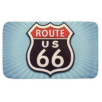 Wenko bathmat vintage route 66 (Bathroom accessories , Bathroom rugs)