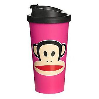 Paul Frank Carry cup Rosa (Kitchen , Household , Mugs and Bowls)