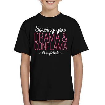 Sewing You Drama And Conflama Cheryl Hole UK Drag Race Kid's T-Shirt