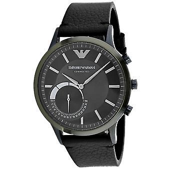 Armani Men-apos;s Connected Grey Dial Watch - ART3021