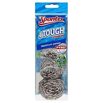 Spontex Tough Scourer (Pack of 4)