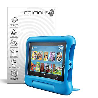 Celicious Impact Anti-Shock Shatterproof Screen Protector Film Compatible with Amazon Fire 7 Kids Edition (2019)