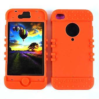 Rajoittamaton Cellular Rocker-sarjan ihon kotelo iPhone 4/4S (oranssi)