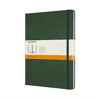 XLarge Ruled Myrtle Green HB Notebook