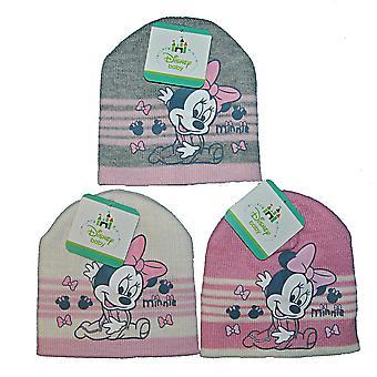 Minnie czapka dla niemowląt 48 biały